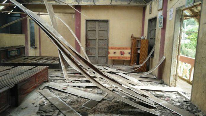 Động đất 4,3 độ richter ở Sơn La
